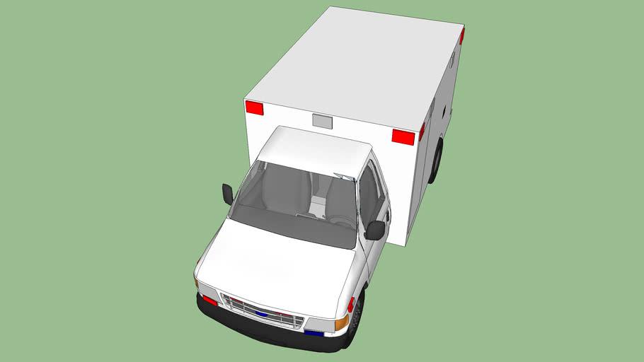 ambulance type lll  ford f350 econoline model 2005