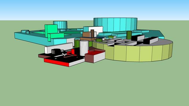 Computer Chip Building Complex