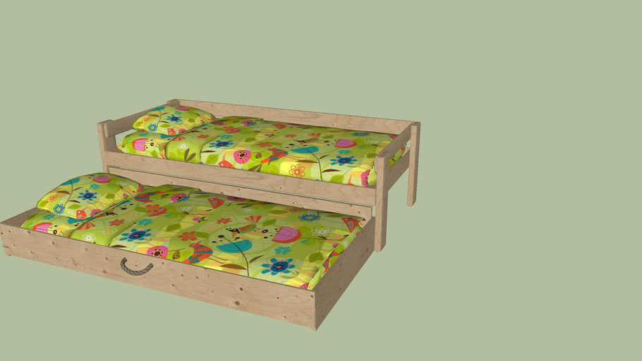 DOUBLE KIDS BED