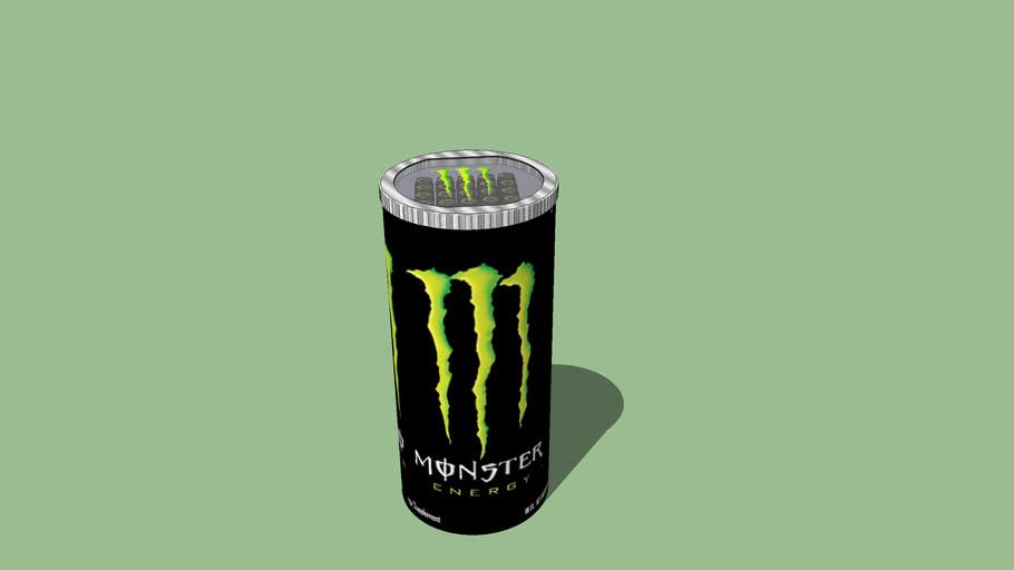 Ongekend Monster Energy Cooler Fridge | 3D Warehouse PA-56