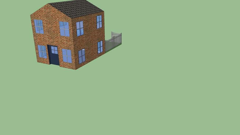 house  with backyard