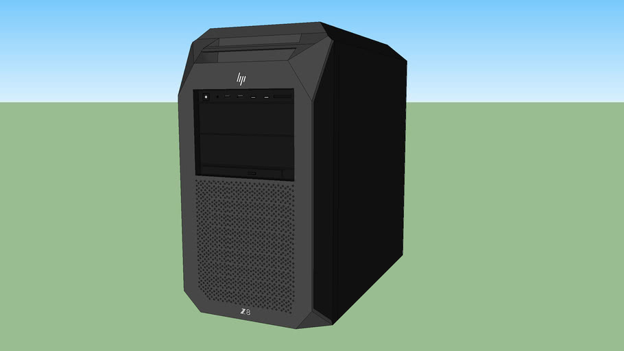 HP Z8 desktop workstation computer