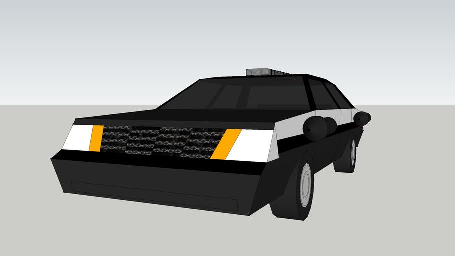 Rocket police car