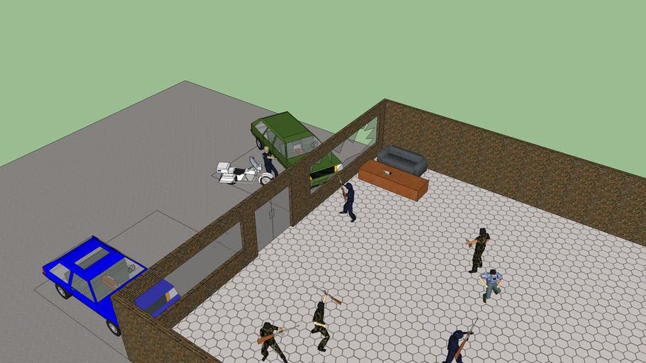 bank shootout