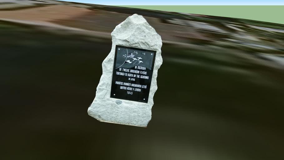 Památník americkým letcům