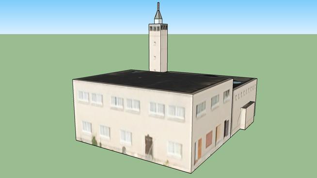 Building in 1061 TE Overtoomseveld, The Netherlands