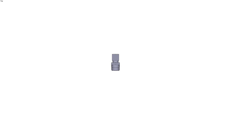 0105 - MALE STUD COUPLING BSPT AND NPT DIAM D 8 MM C R3/8
