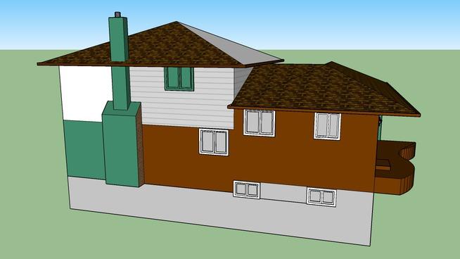 Back-Split House