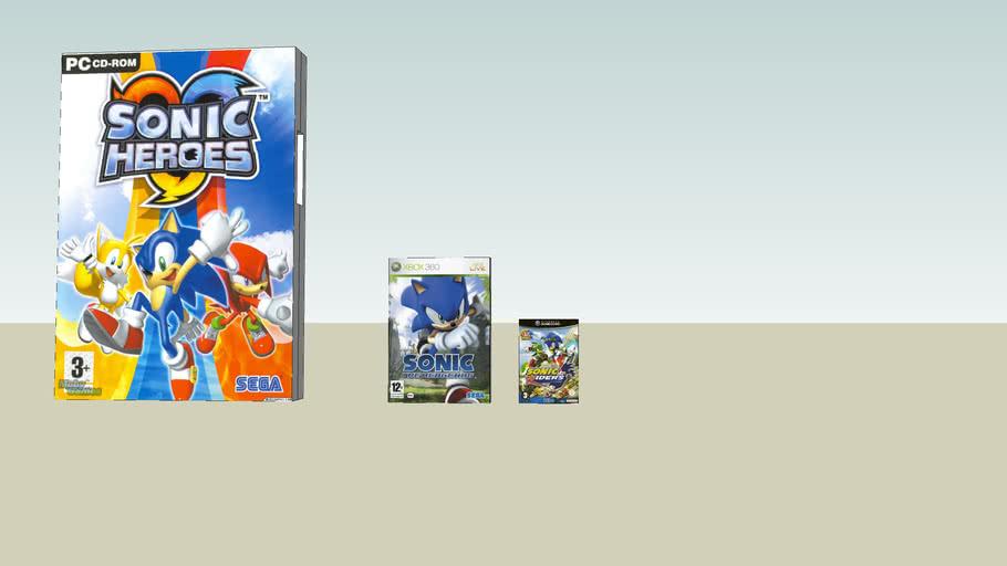 Sonic cd covers