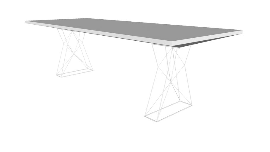 Curzon 102 In Dining Table Glossy