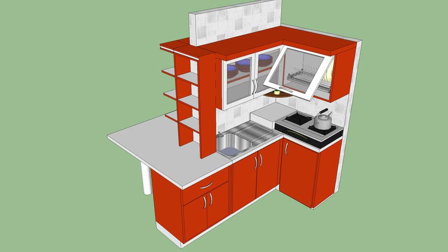 Kitchen Set Ketintang Madya