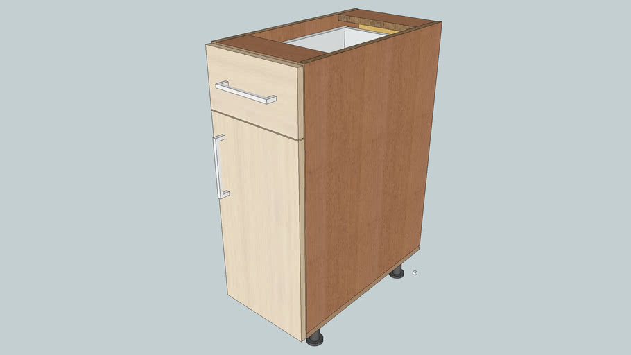Placed Cabinet with drawer and door