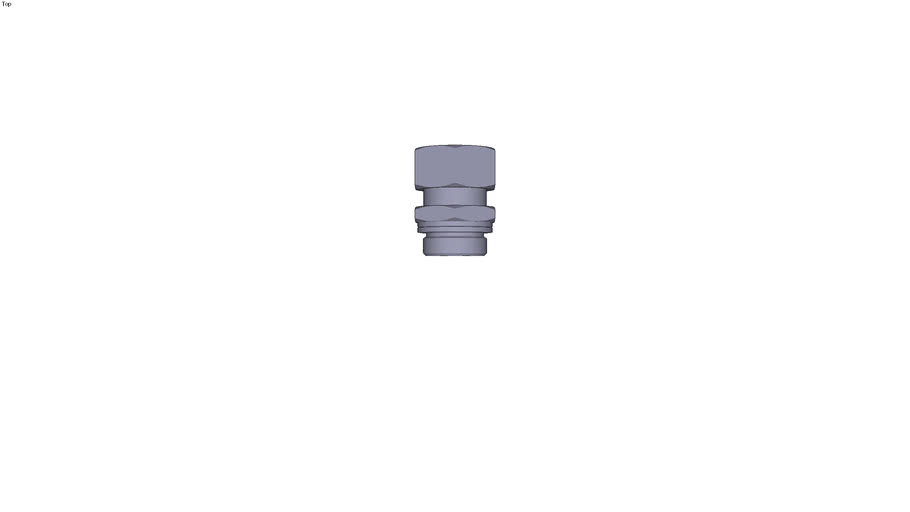 0101 - MALE STUD COUPLING BSP PARALLEL AND METRIC DIAM D 25 MM C G1