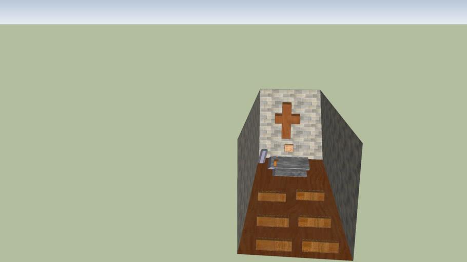 Inside of St. Denis Church fake