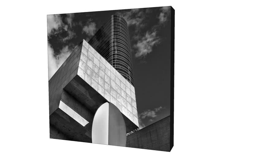 Quadro Dorival Moreira - Coleção São Paulo: Instituto Tomie Otacke