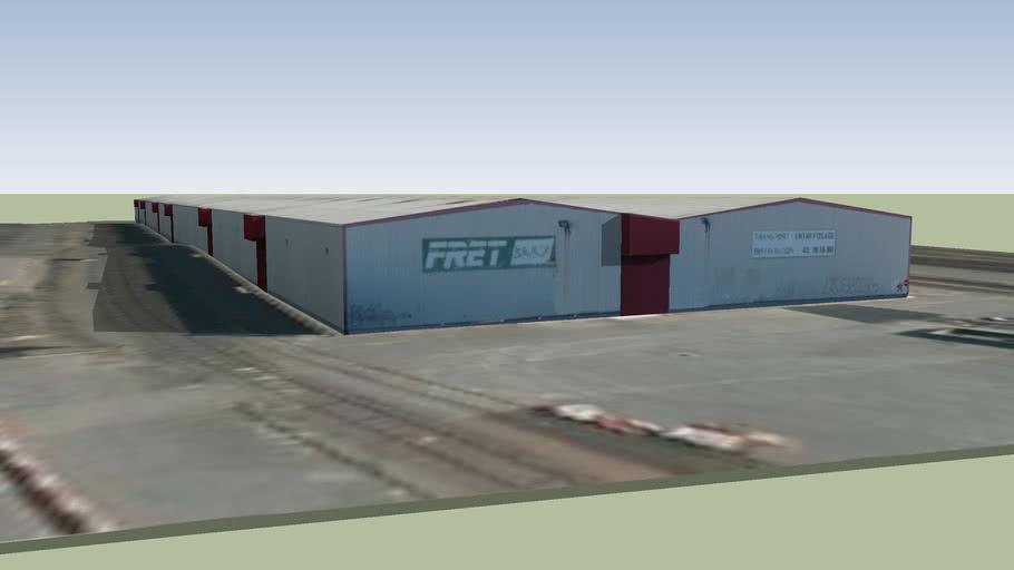 Hangar fret SNCF