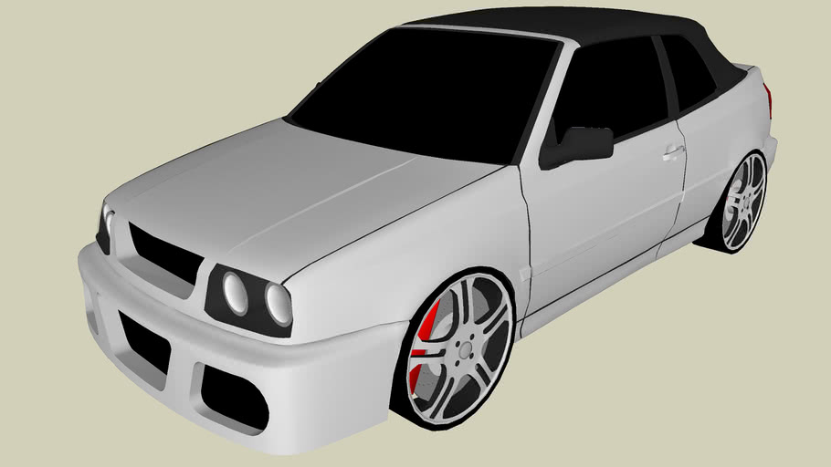 Modified Volkswagen Golf Cabriolet