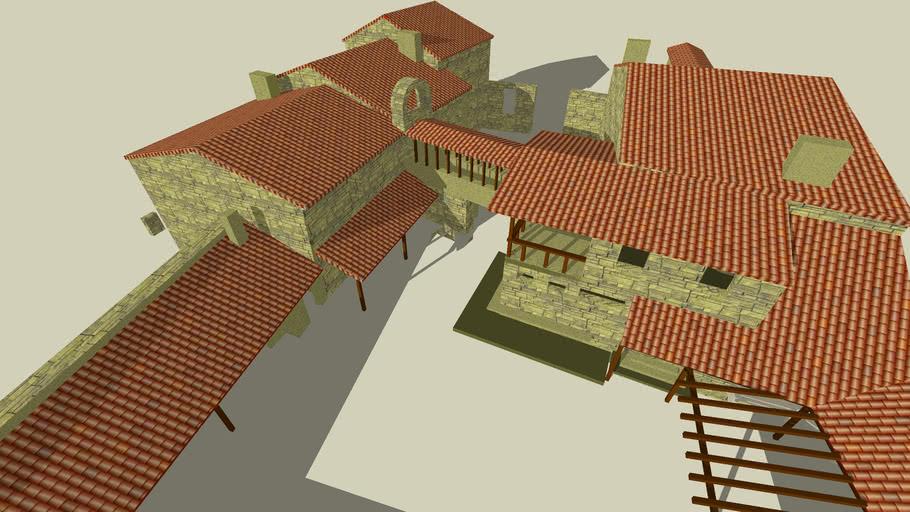 Modelo 3D da Casa Torga