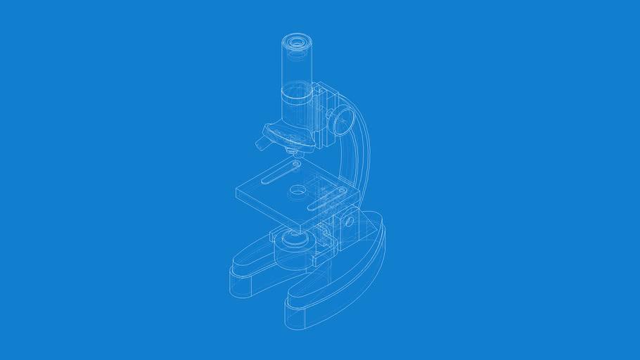 Small Desktop Microscope