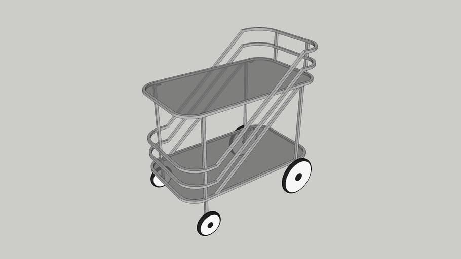 Bar trolley