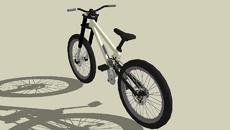 Bicycle Downhill Racing