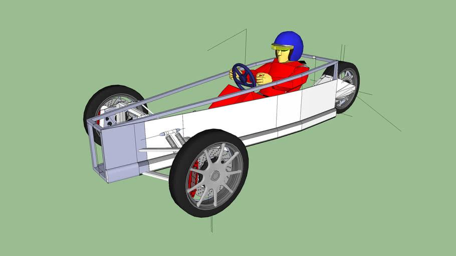 Three wheeler Tresport Chassis