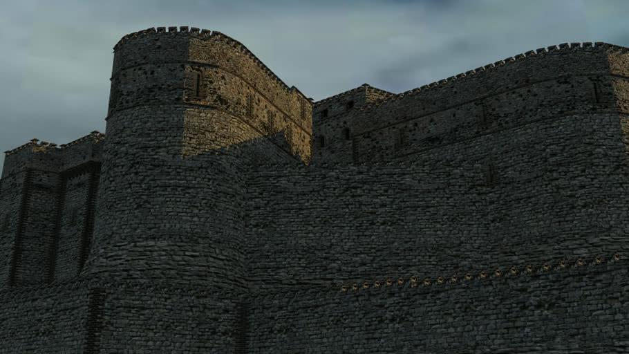 Halbkreises Castle