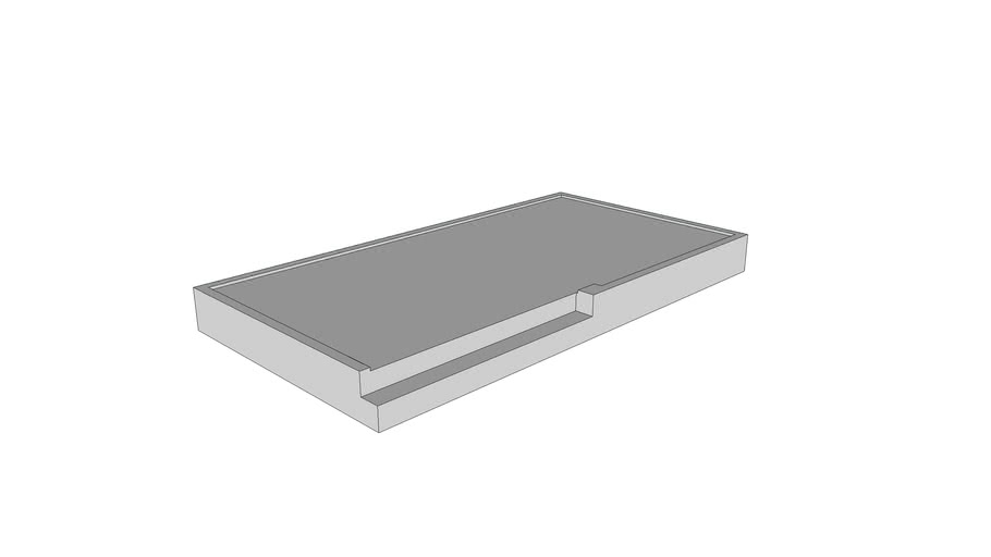 Prefab beton bordes - Precast concrete landing