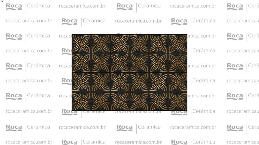 ROCA - RV VENUS BK CHROME 21,5X21,5