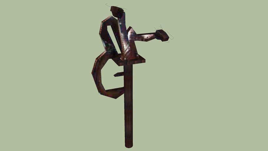 Official MSUM Dragon Sculpture