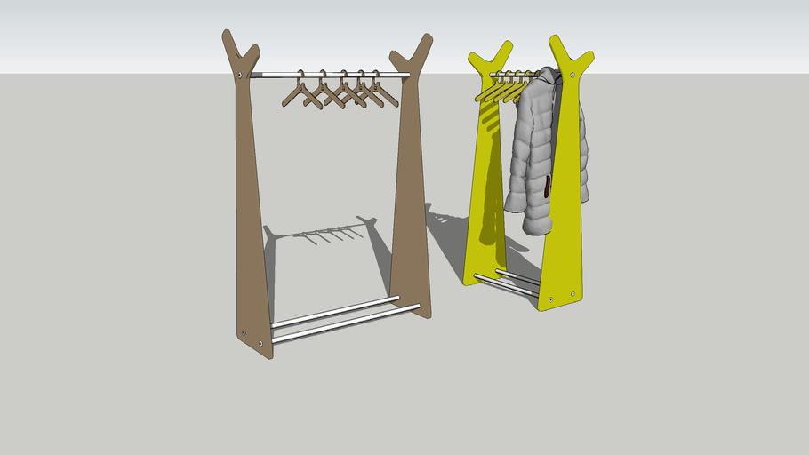 Coat rack - Forest