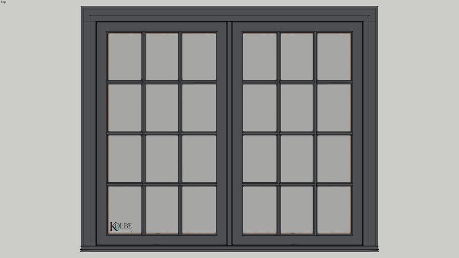 """Kolbe Ultra Casement KUC246 F.S. 5'-4"""" x 4'-6"""" R.O. 5'-4 1/2"""" x 4'-6 1/2"""