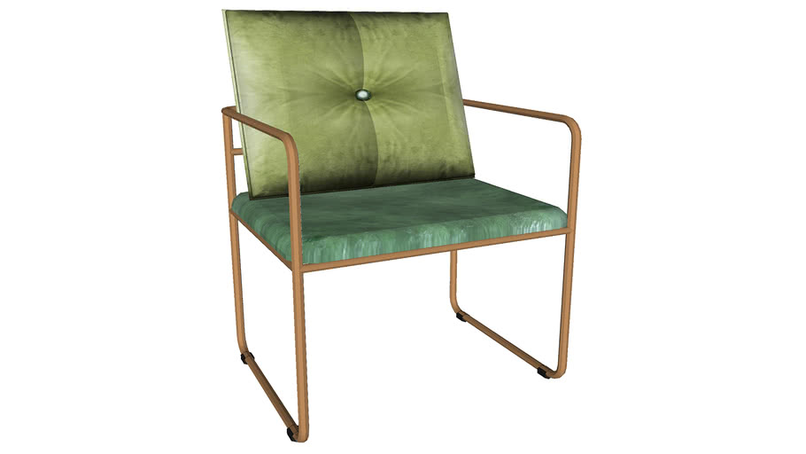 82396 Arm Chair Theo Green