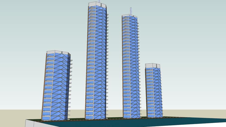 Rascacielos Hotel Beach