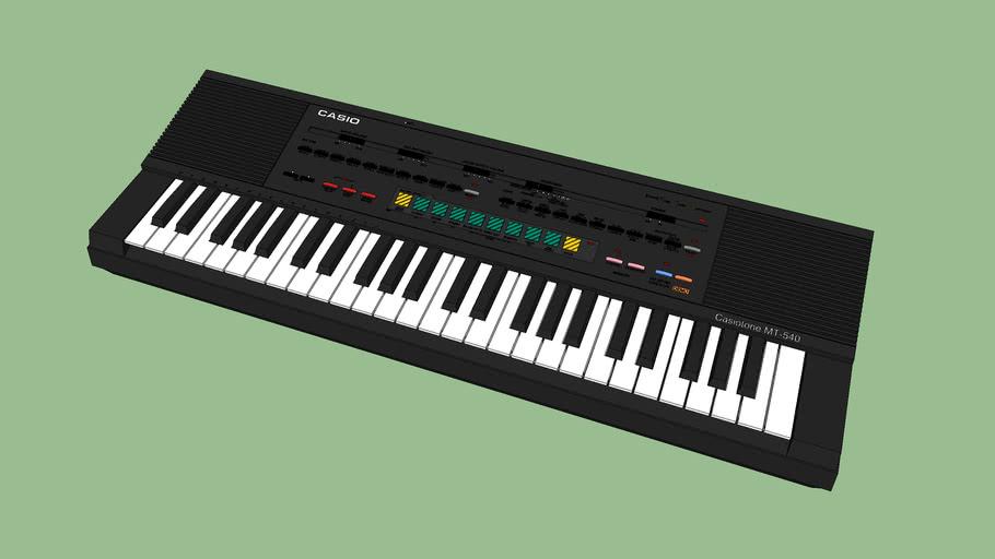 Clavier CASIO Casiotone MT-540