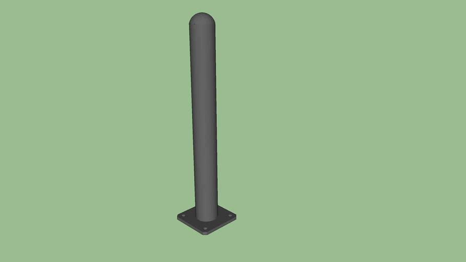 R-7236 Steel Bolt-Down Bollard
