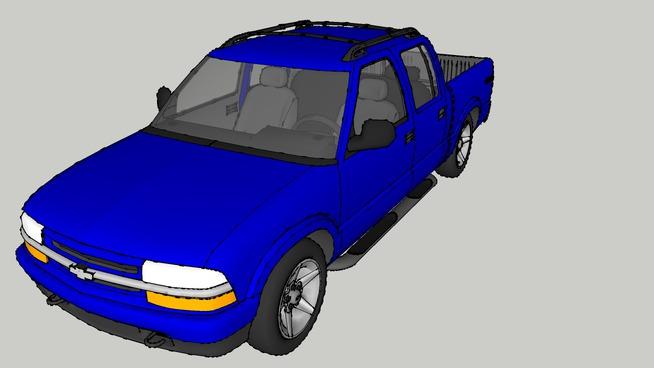 2002 Chevy S10 4X4 Crew Cab