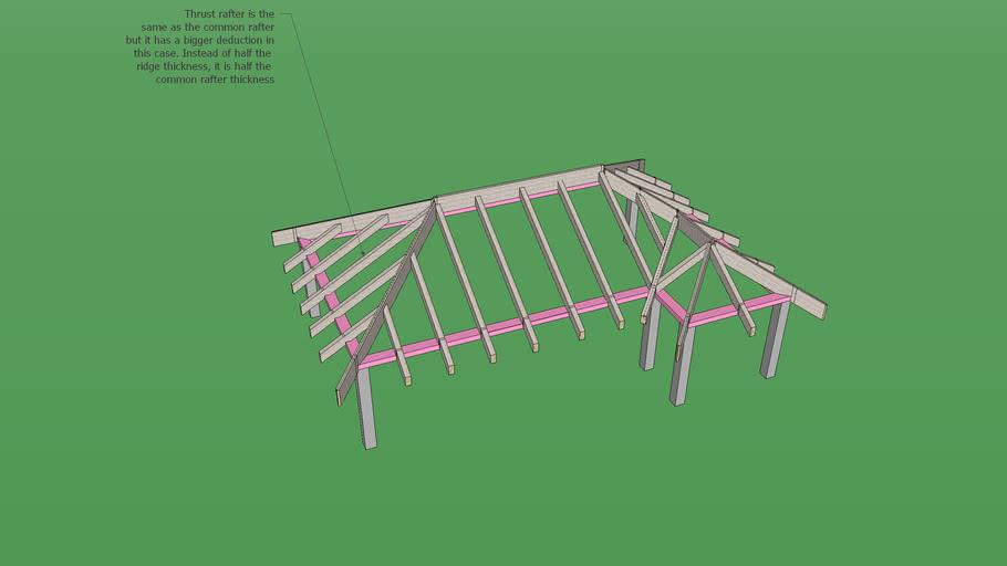 Hip Roof Frame