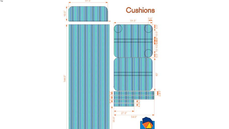 Cushions by Umbelas