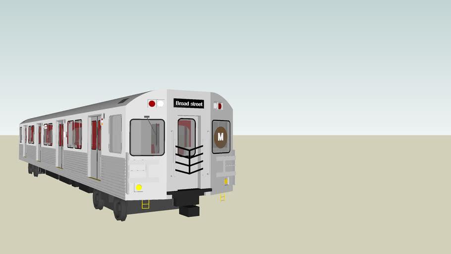 MTA NYC M-train Subway
