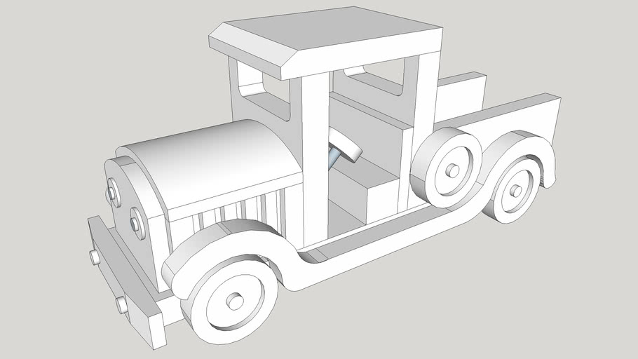 Small Pickup Truck Toy