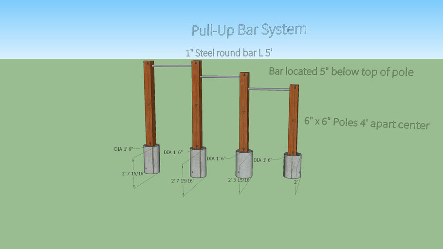 Pull-Up Bar System
