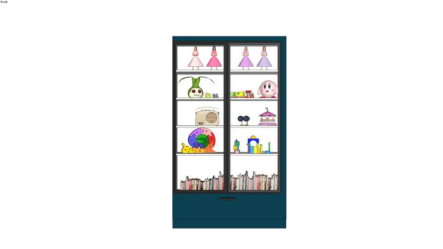 DISPLAY UNIT+STORAGE+BOOKS+RADIO+WARDROBE+KIDS+CHILDREN
