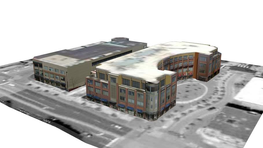 Model of One Boulder Plaza West