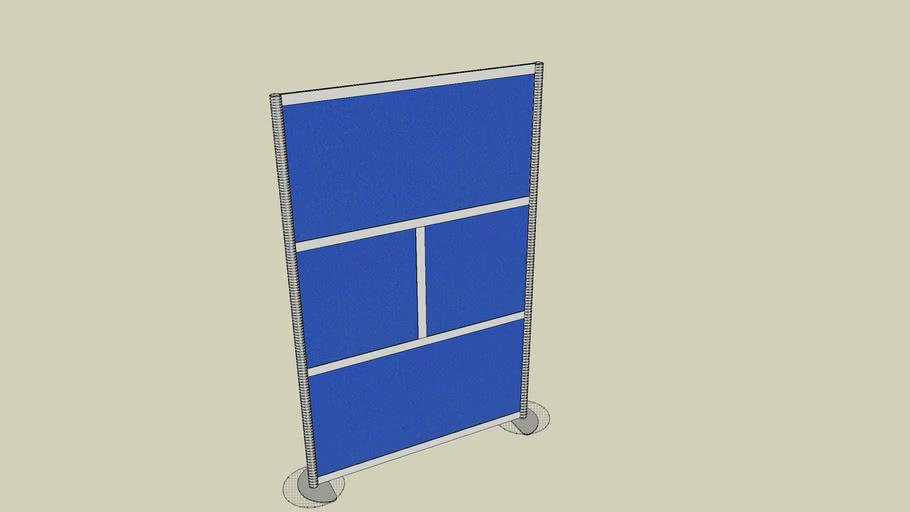 "Framewall Room Divider LW42 52"" wide X 78"" tall"