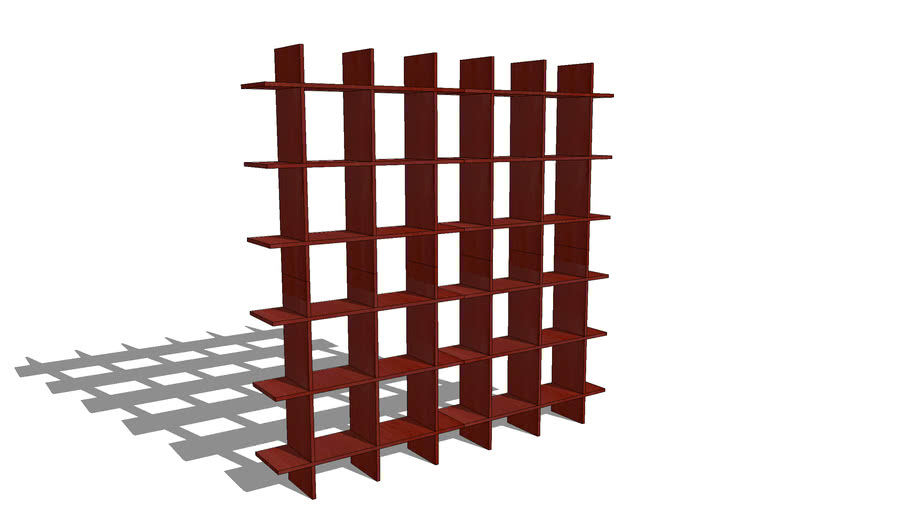 6' Wide Storage Shelf 0606f020