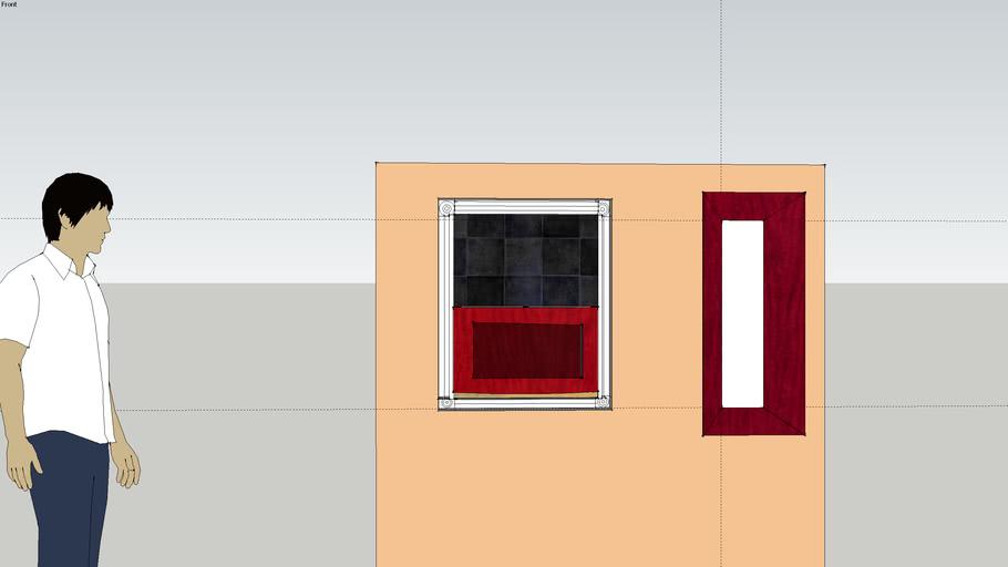 dan reynolds expando wall with slate