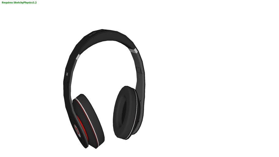 Beats By Dr.Dre Solo HD With control talk- Black