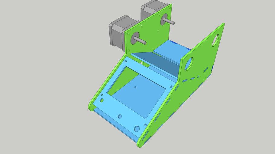 CoilBot v2 - Lasercut Coil Winder