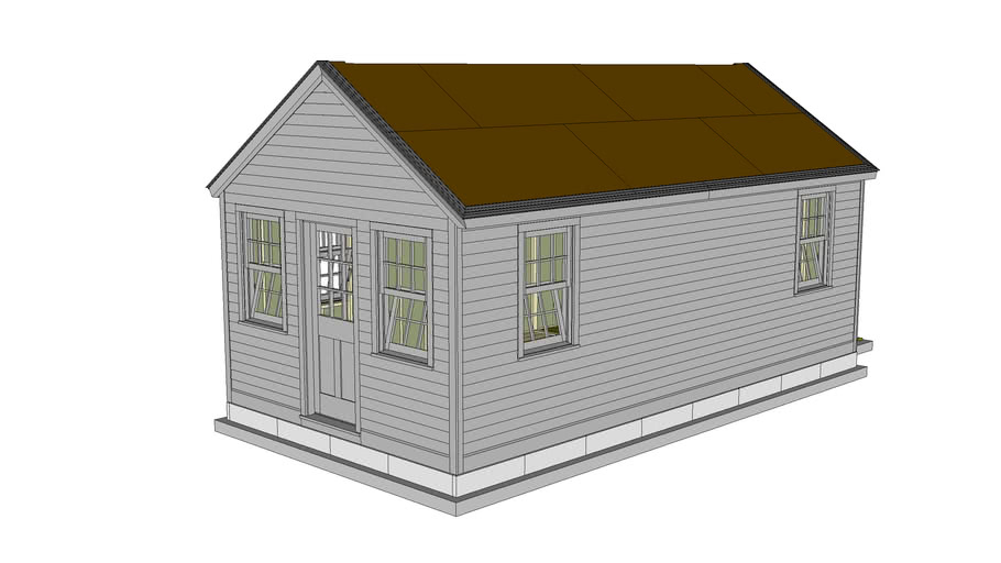 Shaker Style Garden Shed